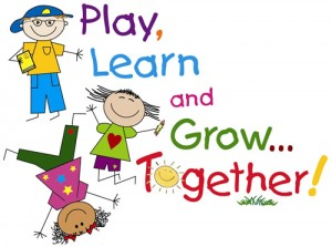 play learn grow clip art