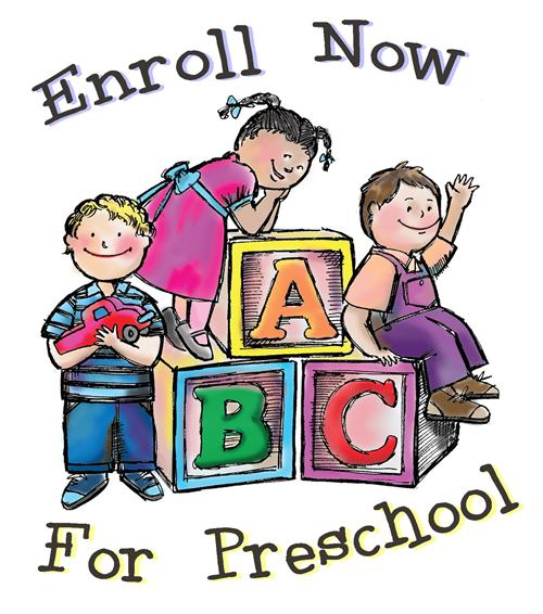 Image result for ENROLL NOW FOR PRESCHOOL
